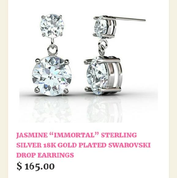 f139b77a5 Cate & Chloe Jewelry | Cate Chloe Swarovski Crystal Jasmine Immortal ...