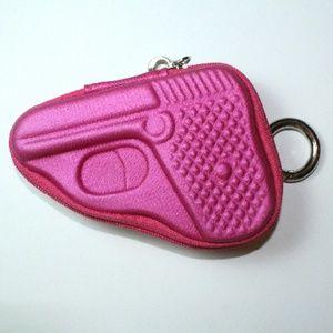 🔫Pew pew! Gun Shaped Key Holder/Coin Purse