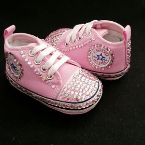 bling baby converse