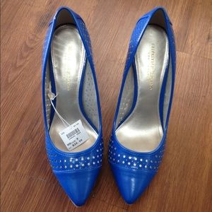 Christian Siriano Shoes - Blue heals NWT
