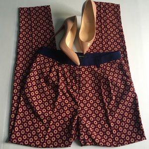 Pants - Geometric print pants M