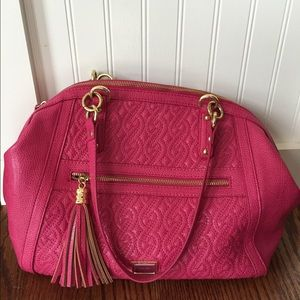 Nine West handbag. Hot pink.