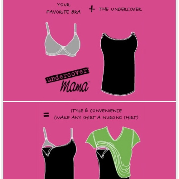 Undercover Mama Tops - SUNDAY SALE  Undercover mama nursing tank closeout