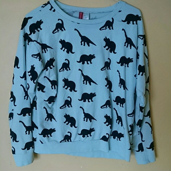 77acefd1fa1520 H M Sweaters - Dinosaur Sweater