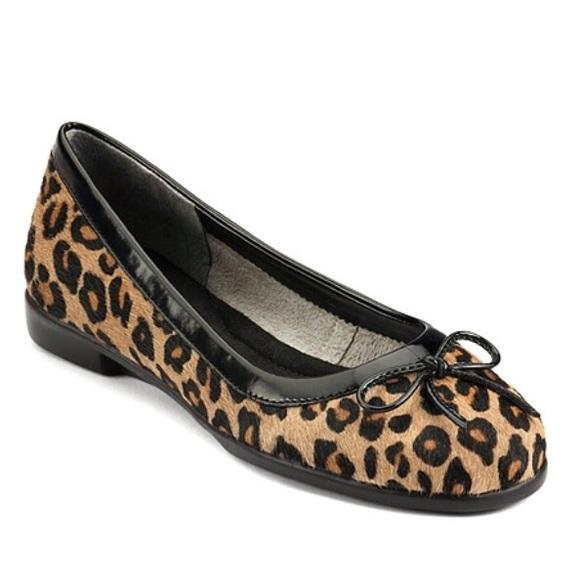 Aerosoles Leopard Print Ballet Flats