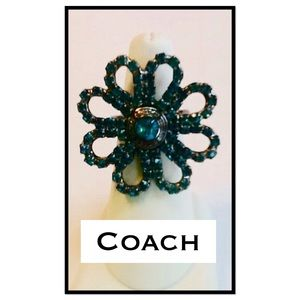 Coach Jewelry - Coach Cocktail Ring