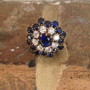 Jewelry - DEEP SAPPHIRE TOPAZ RING