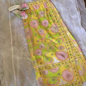 Vintage pucci maxi skirt