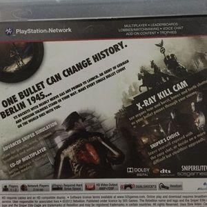 Ps3 Other Sniper Elite Game Poshmark