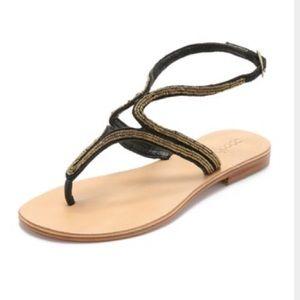 Cocobelle Mila Black Sandals