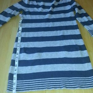 Express Gray sweater dress.  S
