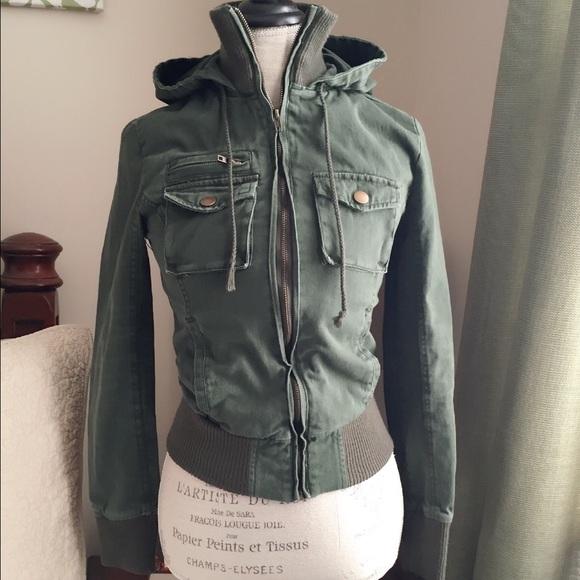 e21a5f34d LA Hearts army green jacket