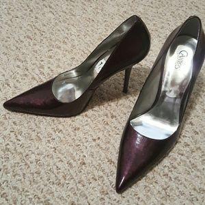 Carlos Santana Shoes - Purple Pointed Pumps