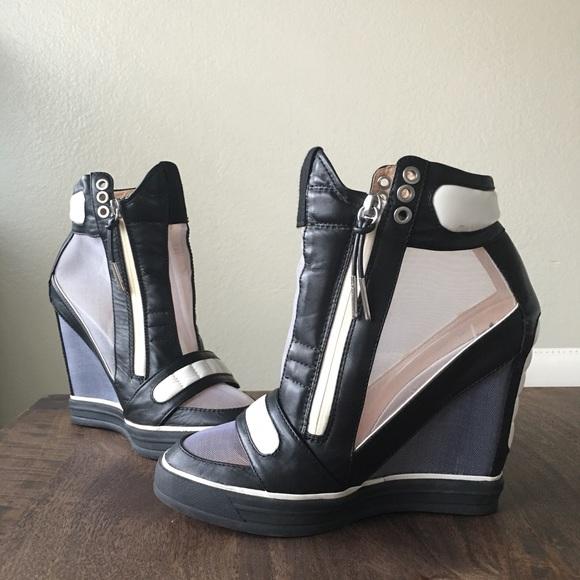 df9f95d9c989 L.A.M.B. Shoes - L.A.M.B. Pamela Wedge Sneakers
