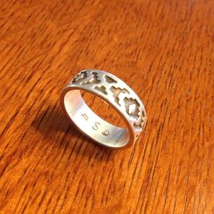 Jewelry - Vintage Sterling Silver Southwest Band
