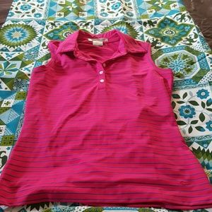 NIKEGOLF woman's drifit shirt, sz small, nwot