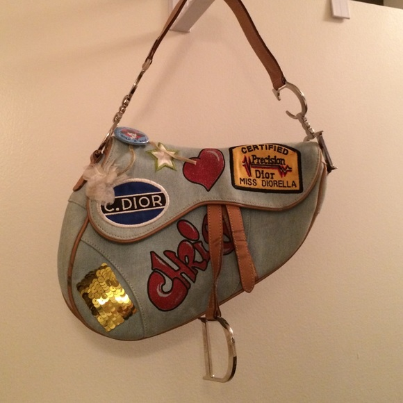 Dior Handbags - Limited Edition Christian Dior Speedway saddle bag 54efa50a7129d