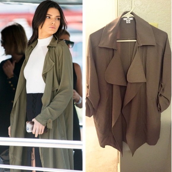coat shopstyle drape twill draped at browse trench drapes splendid sandwash xlarge