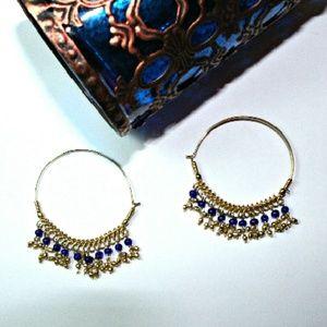 💙Boho Blue earrings