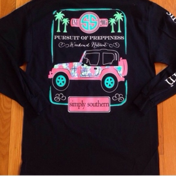 07f5754dc13 Long Sleeve Simply Southern Jeep Shirt NWT
