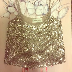 Abercrombie & Fitch Tops - Glitz & Gold