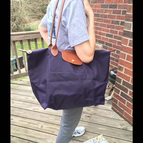 5d47ca3d22d1 Longchamp Handbags - Reduced! Longchamp Large Le Pliage Tote