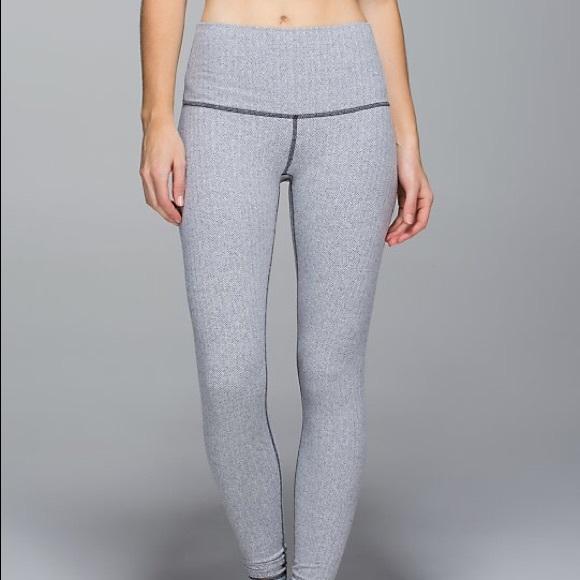 9b528ded8b lululemon athletica Pants | Lululemon High Times Herringbone | Poshmark