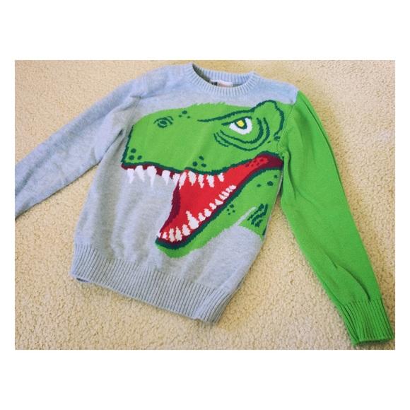 2f9aef72dbe013 H M Sweaters - H M dinosaur sweater