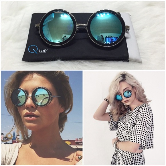 4384d1f6bc73 Quay Throwback Mirrored Oversized Sunglasses