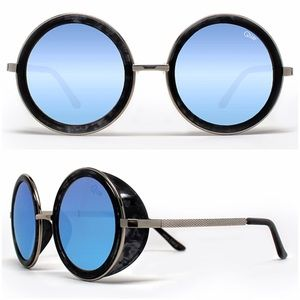 e806c26f3cb8 Quay Accessories - Quay Throwback Mirrored Oversized Sunglasses