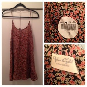 Brandy Melville floral halter dress NWT