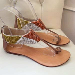 Cocobelle Shoes - $10 Off Sale!! Cocobelle Sunshine Beaded Sandal