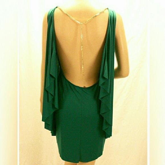 BCBGMaxAzria Dresses & Skirts - Make me an offer!!!BCBGMaxazria  DRESS OPEN BACK