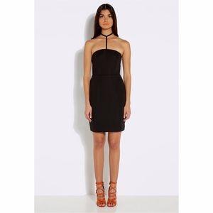 •AQAQ black mini dress size 4 •
