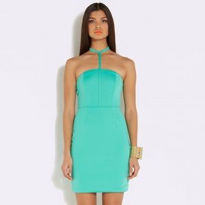 Aqaq Dresses & Skirts - • AQAQ mini Bodycon dress size 4 in Bermuda •