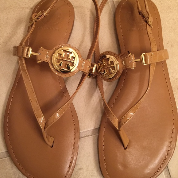 discount good selling Tory Burch Reva Leather Sandals supply for sale outlet order online free shipping amazing price FGbrtIJxj7