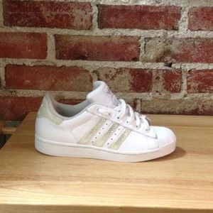 Adidas Superstar Brown Cream