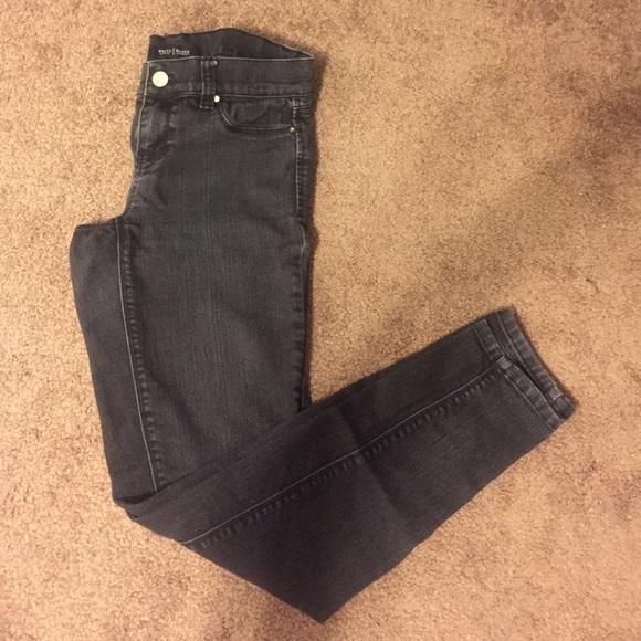 05215a1a517c2 White House Black Market Pants | Faded Black Jeggings | Poshmark