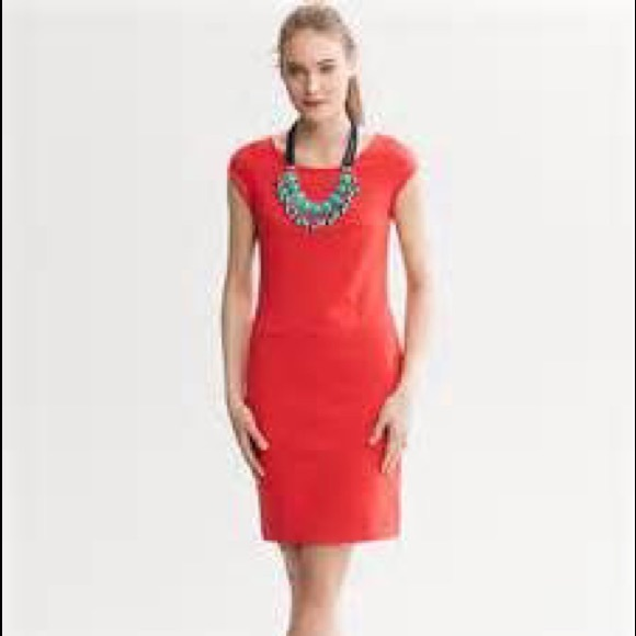 57% off Banana Republic Dresses & Skirts - Banana Republic Red ...