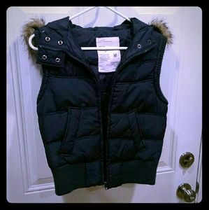 Aero Navy Hoodie Jacket