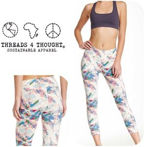 Threads 4 Thought  Pants - NWT Threads 4 Thought Capri Leggings