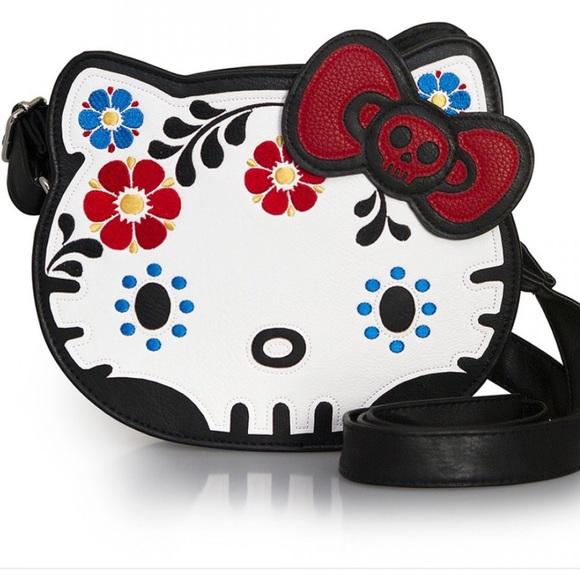 636fe345f Sanrio Bags | Hello Kitty Sugar Skull Crossbody | Poshmark