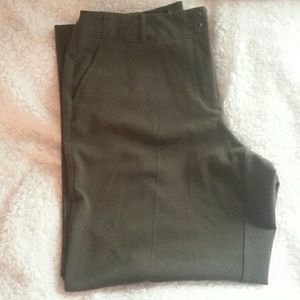SALEDark Olive Green Dress Slacks