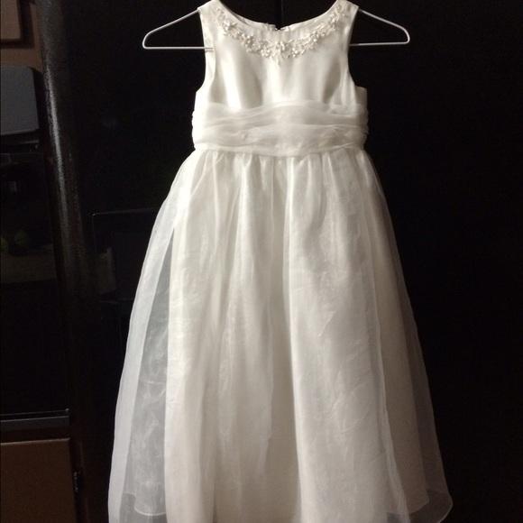Flower Girl Dresses Davids Bridal White : Off david s bridal dresses skirts