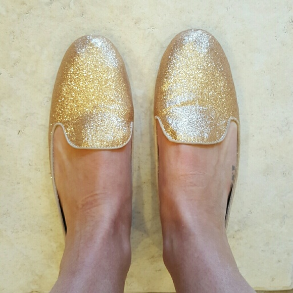 90e1e171936d GAP Shoes - Gap Sparkle Smoking Slippers
