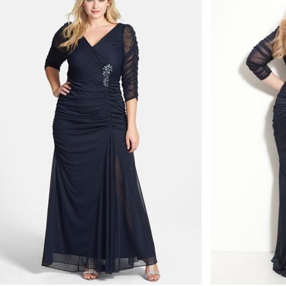Adrianna Papell Dresses | Plus Size Gown | Poshmark