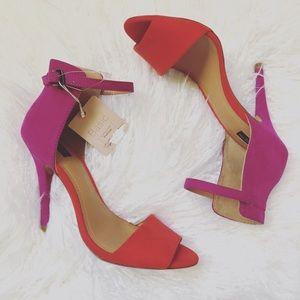 Zara Colorblock Heels