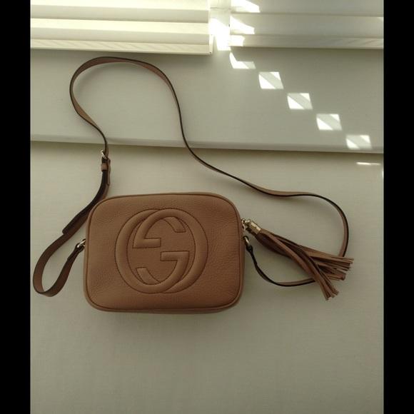b9e97d301 Gucci soho disco bag beige. M_56e442e2eaf0303180003943