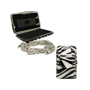 Handbags - Zebra Black Mini Wallet