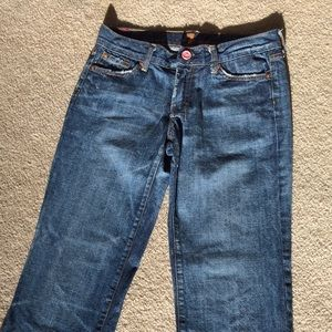 "7 for all mankind ""dojo"" blue jeans size 27"